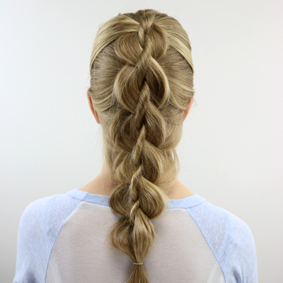 """Cheater"" 4 Strand Dutch Braid"