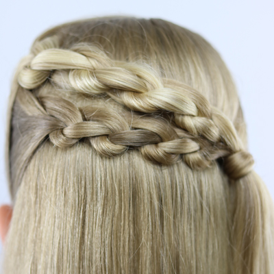 3 Strand Knot Braid Hairstyle Is It A Braid Or Is It Knots