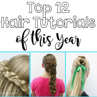 Top 12 Hair Tutorials of This Year | 2017 in Review