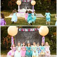 Disney Royal Princess Spa Party