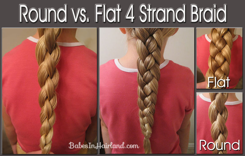 Flat 4 Strand Braid Video Babes In Hairland