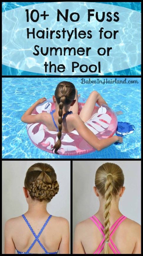 Hairstyles for Summer or the Pool from BabesInHairland.com