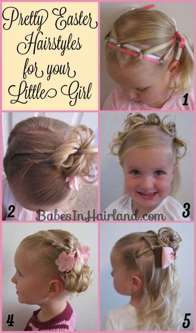 5 pretty easter hairstyles - babes in hairland