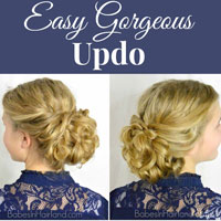 Easy Gorgeous Updo