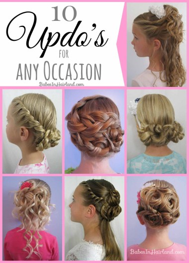 10 Updos for Any Occassion from BabesInHairland.com