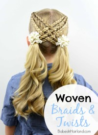 Woven Braids & Twists - Babes In Hairland