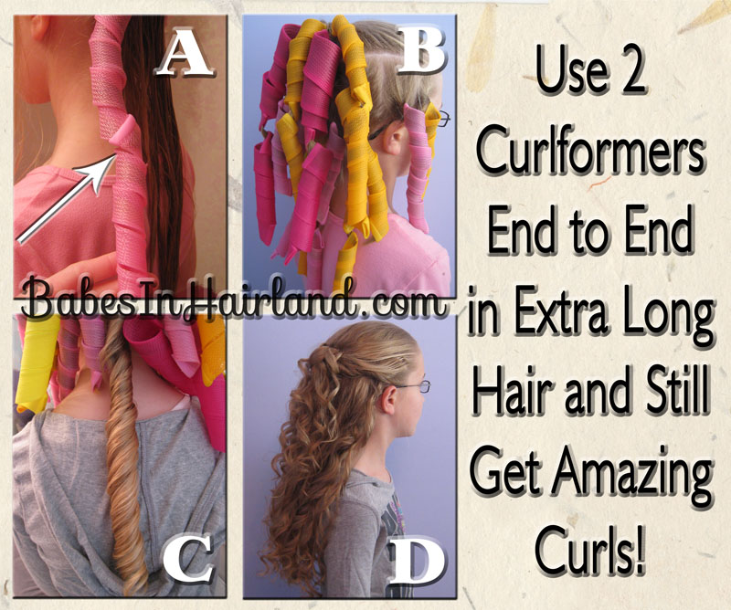 Extra Long Hair Curlformers Curlformers Experiment Babes In