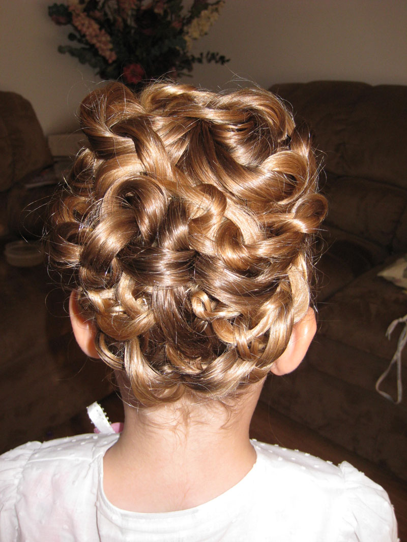 Three Ponytail Knotted Updo Babes In Hairland