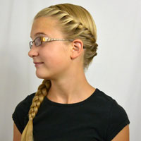 French Rope Twist and Braid