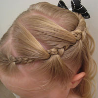 Our Try at Tween Braids