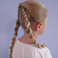 Half Knot and Rope Braids