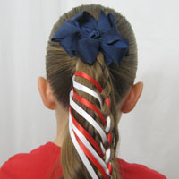 Patriotic Ladder Braid