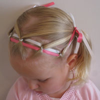 Ponies & Ribbon Headband