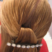 Half Knot with Barrette