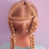 Letter A Hairstyle (20)