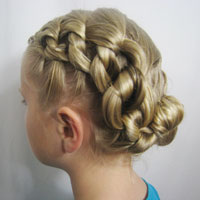 Chunky Knot Updo