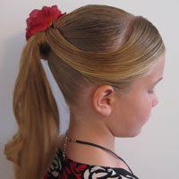 Fancy Wrapped Ponytail
