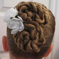 Cinna-Buns Hairstyle