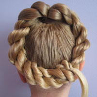 Letter Q Hairstyle (11)