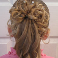 Curls above Ponytail Hairstyle (15)