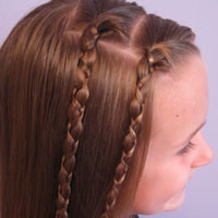 Two Quick Uneven Braids