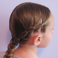 Puffy Braids to a Braid