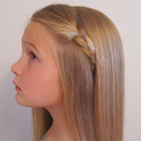2 Simple Ways to Pull Back Bangs