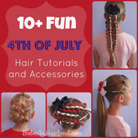 4th of July Hair & Accessory Roundup