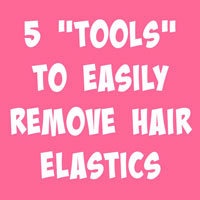 5 Tools to Easily Remove Hair Elastics | Hair Hack
