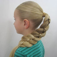 4 Strand Braid with a Micro Braid