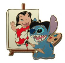 Disney_Auctions_(P.I.N.S.)_-_Artist_Stitch_with_Lilo