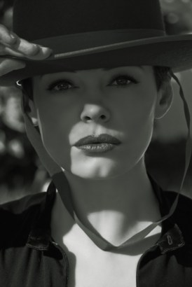 Rose McGowan in Flaunt