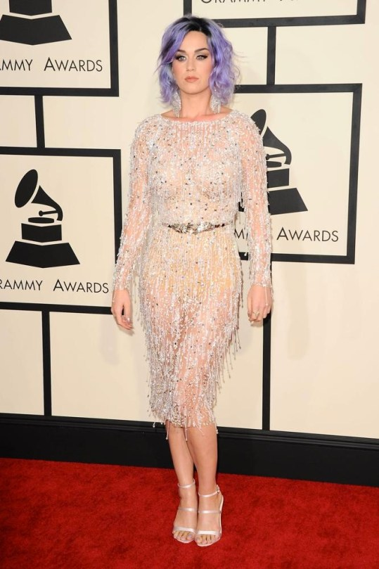 Katy Perry at the 2015 Grammys