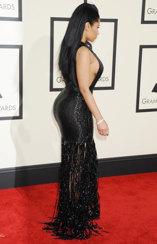 Nicki Minaj at the 2015 Grammys