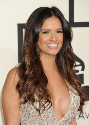 Rocsi Diaz at the 2015 Grammys