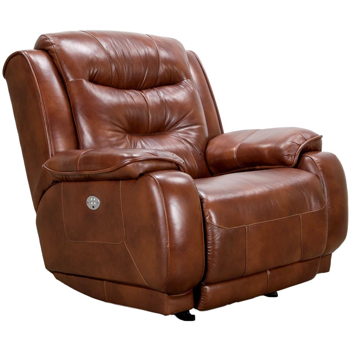 crescent power sofa recliner with headrest 3 seat bed slipcover leather rocker by