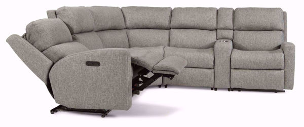 catalina 6 piece sectional sofa with console