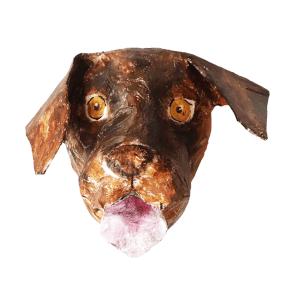 papiermache hond labrador