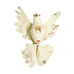 vogels van textiel gemaakt door babetteswereld