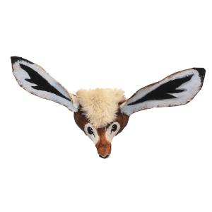 afbeelding van giraf gazelle gemaakt van papiermache