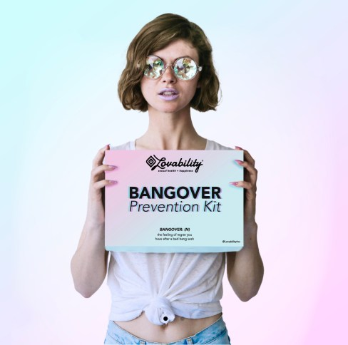 Bangover Prevention Kit by sexual health brand Lovability