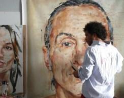 Paintings by César Biojo