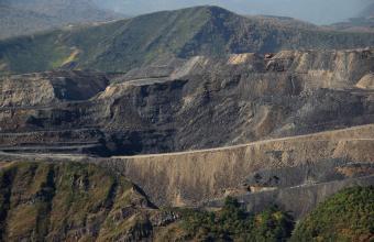 Explotación minera cielo abierto en Laciana