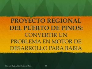 Puerto Regional del Puerto de Pinos propuesto por las Juntas Vecinales del Puerto de Pinos