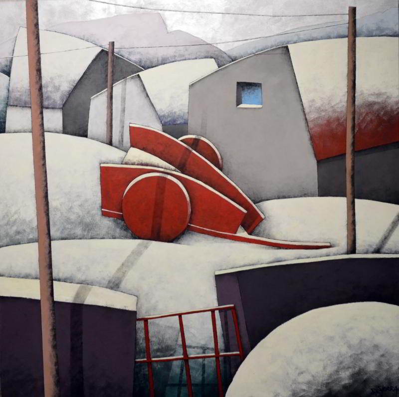 Manuel Sierra expone en la Galería Bernesga, de León