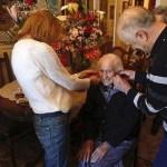 Áurea, la abuela de Babia, cumple 107 años en su primera primavera fuera del pueblo (Leonoticias)