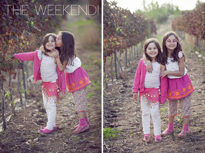 Alma and Nogah's Lil' Stylekins street-style feature on the Babiekins Magazine blog - Weekend