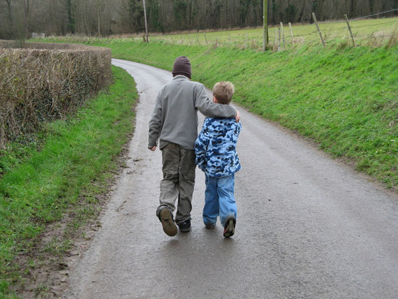 boys walking 2