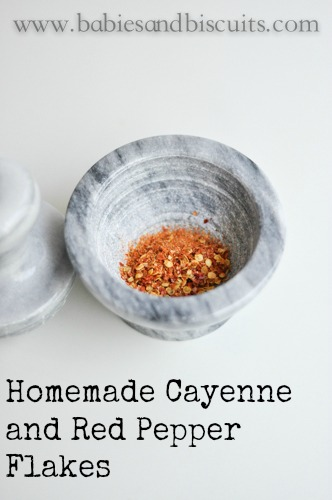 Homemade Cayenne