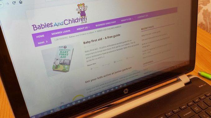 Babies and Children website
